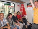 Die gesamte Entwicklung der Streikbewegung und der bisherigen Solidaritätsbekundungen wurden erklärt.